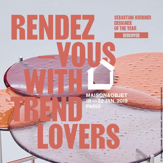 SALON MAISON&OBJET PARIS DU 18 au 22 JANVIER 2019
