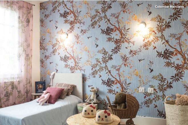une chambre d 39 enfants par colombe marciano en avant sur houzz. Black Bedroom Furniture Sets. Home Design Ideas