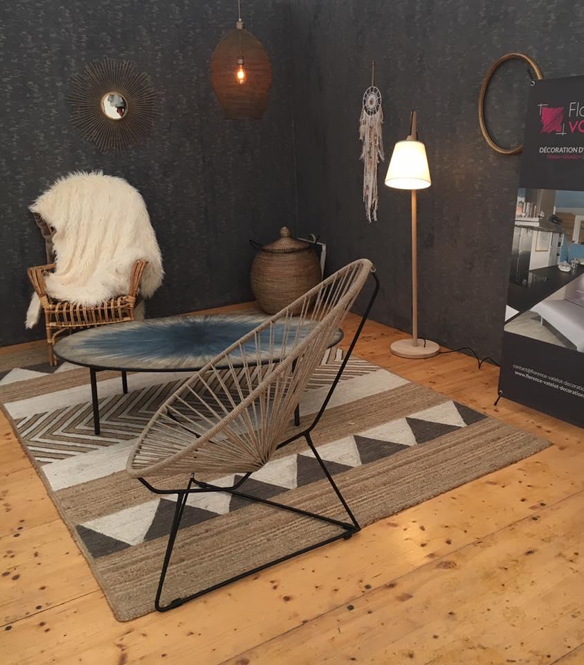 florence vatelot en vedette du salon de l 39 habitat de dinan. Black Bedroom Furniture Sets. Home Design Ideas